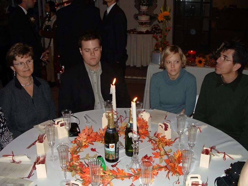 Jim and Erika's Wedding, November 30, 2003