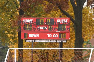 Cougars vs Barringer - Oct 24