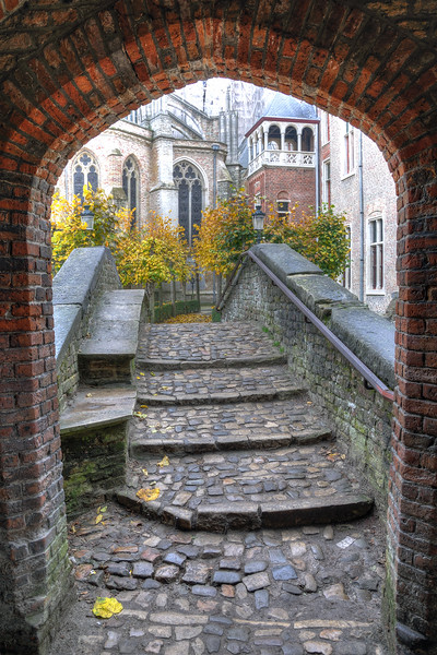 Bridge - Brugge, Belgium - November 2, 2010