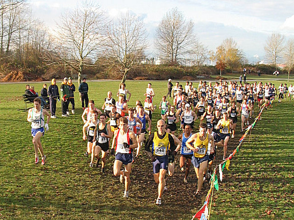 2005 Canadian XC Championships - The main event gets underway