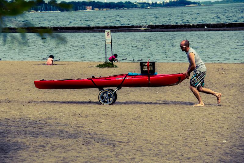 Along The Lake Shore