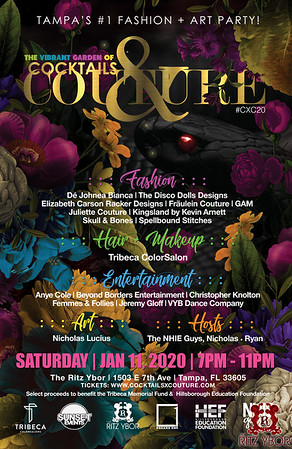 Cocktails & Couture 2020: The Vibrant Garden