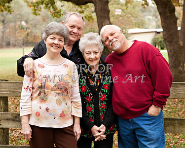 Francis Roberts Miller Family November 24, 2011 Art Prints from Thanksgiving