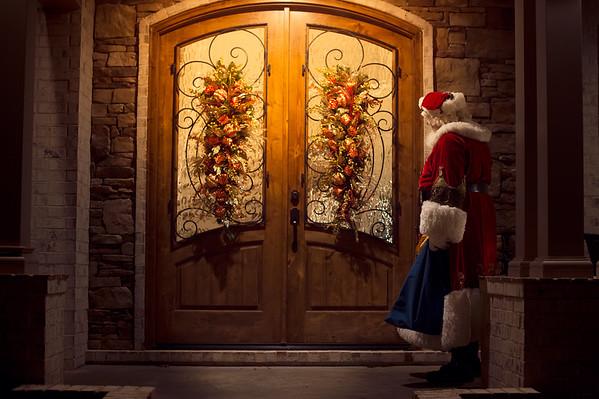 Cassady Meeting Santa