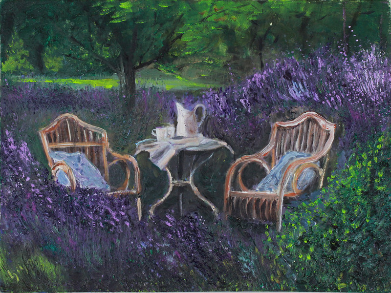 Garden and Lavender Tea