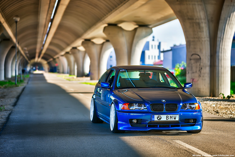 One more with the BMW E46 COUPE