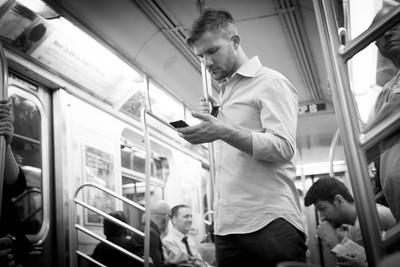 Stranger on the NYC Subway