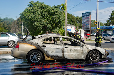 Brookhaven Car Fire  William Floyd Parkway and Surrey Circle[9.22.16]
