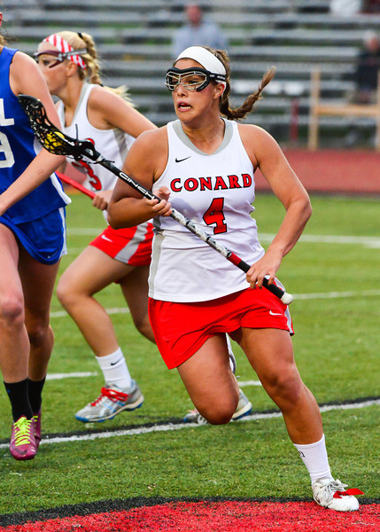 Conard vs. Hall - Varsity Lax - May 22, 2014