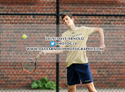 5/9/2019 - Boys Varsity Tennis - St. John's vs Needham