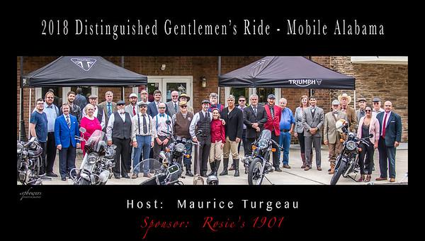 Distinguished Gentlemen's Ride -2018