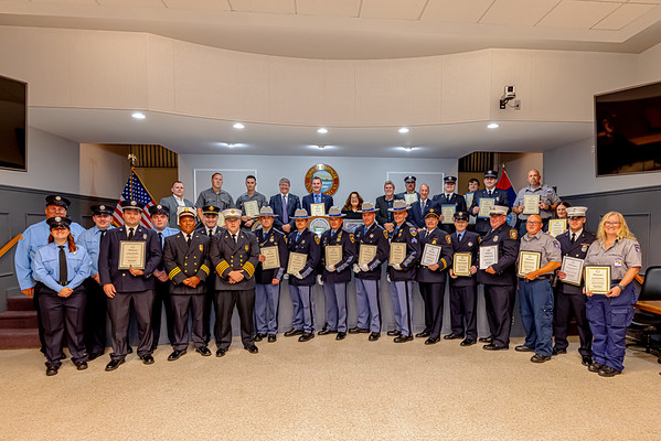 5th Annual Town of Wappinger First Responder Recognition Award Ceremony - 9/19/2021