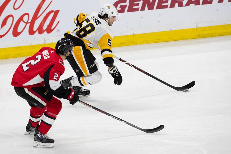 NHL 2018: Penguins vs Senators  DEC 08