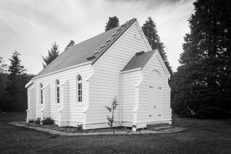 Garston Church, South Island, New Zealand