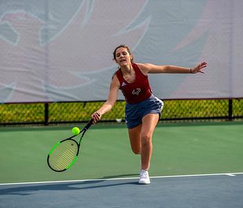 Tennis Girls: Riverside vs. Rock Ridge 4.10.2019 (By Al Shipman)