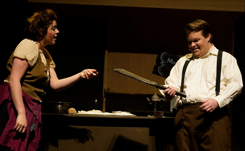 "The Gardner-Webb Theatre Department presents their production of the musical ""Sweeney Todd"", directed by Dr. Chris Nelson and Dr. Stafford Turner. The show will open on Feb. 21 and will run through Feb. 24 in Dover Theater."