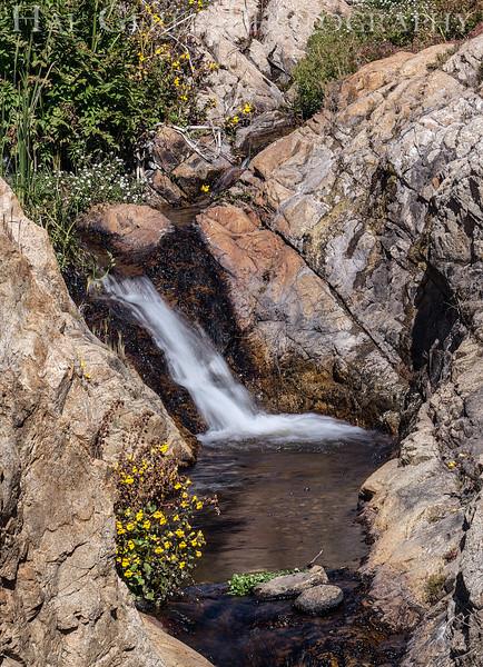 Creek Waterfall Garrapata Creek Headlands Big Sur, California 1206BS-SW3E2
