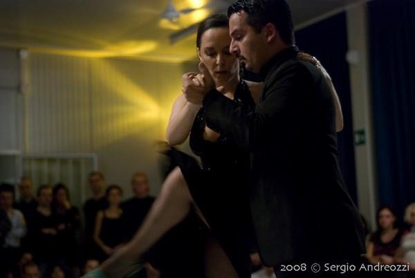 Milonga - 6 Feb 2008 - Milena Plebs y Fernando Galera