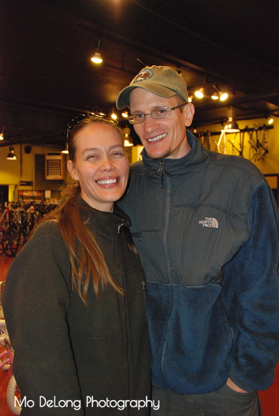 Christina McVeagh and Joel Guenther