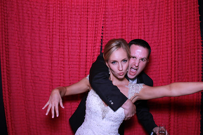 Michelle and Jason Photo Booth Pics