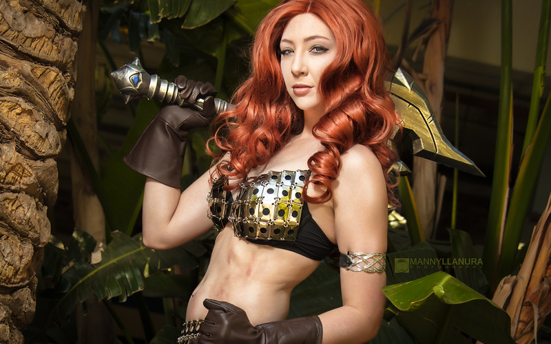 Red Sonja Cosplay by Feisty Vee