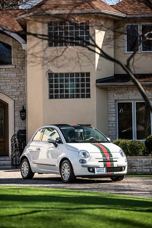 Fiat 500 Gucci Edition