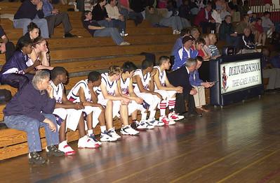 DHS Varsity Boys Basketball - 02-21-06