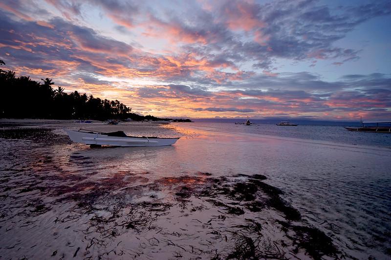 Panglao Island sunset, Philippines