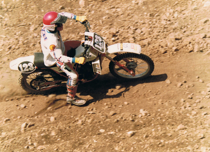 1982:Campione siciliano cross 125 junior, su ktm 125