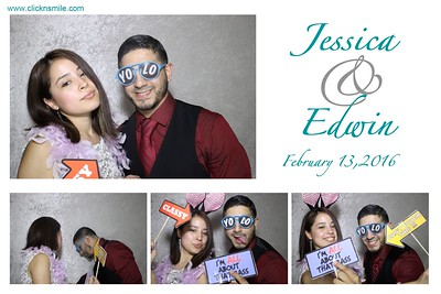 Jessica and Edwin