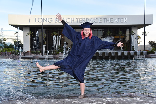Long Beach Senior Portrait Session