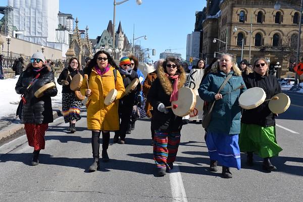 Ottawa Women's March 2020