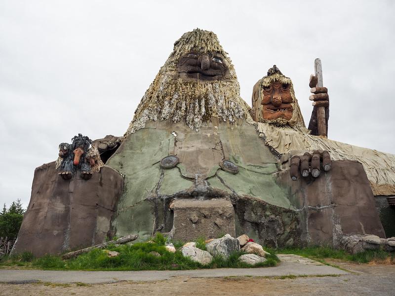 Senja Troll in Norway