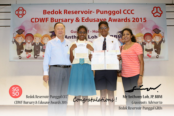 CDWF Bursary & Edusave Awards 18-1-2015