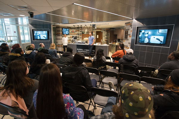11/14/19 Author and Chef Barton Seaver Lectures