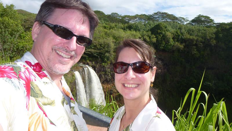 At Wailua Falls