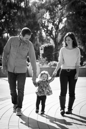 Callicott Family 2012 BW