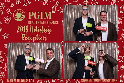 PGIM Real Estate Finance Holiday Party 2018
