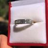 1.00ctw Half-eternity Baguette Ring 5