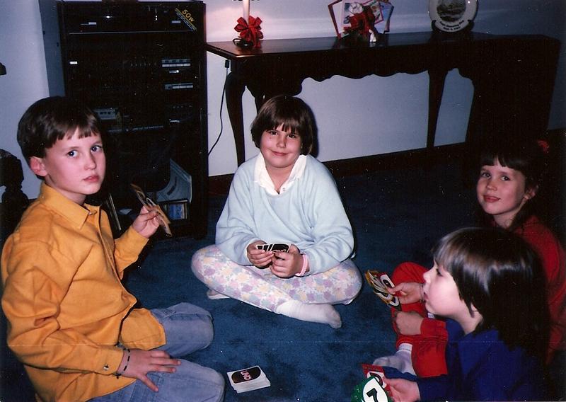 Edward III, Katey, Bridget & Catherine 1/87