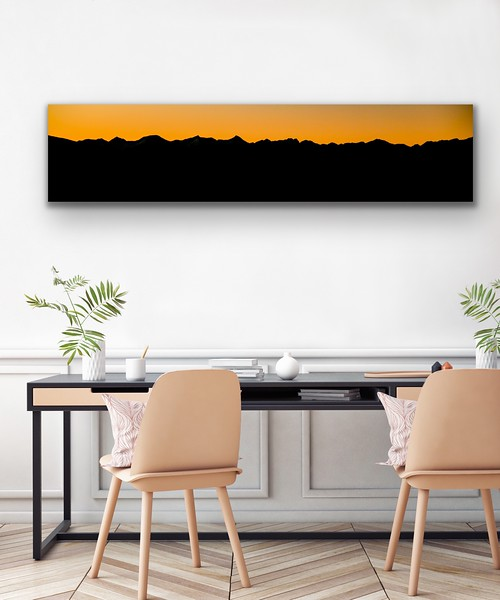 'Purcell Skyline' Canvas Wrap