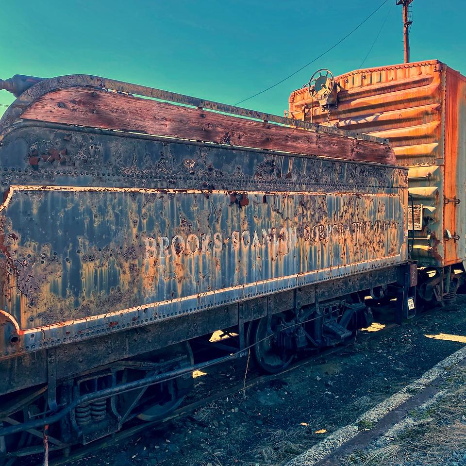 Brooks-Scanlon coal car - Steamtown national historical site - scranton pennsylvania