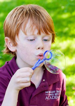 First Grade - Bubbles Experiment