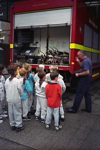 Beavers at the Fire Station