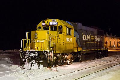 Christmas Train at Moosonee 2012 December 18