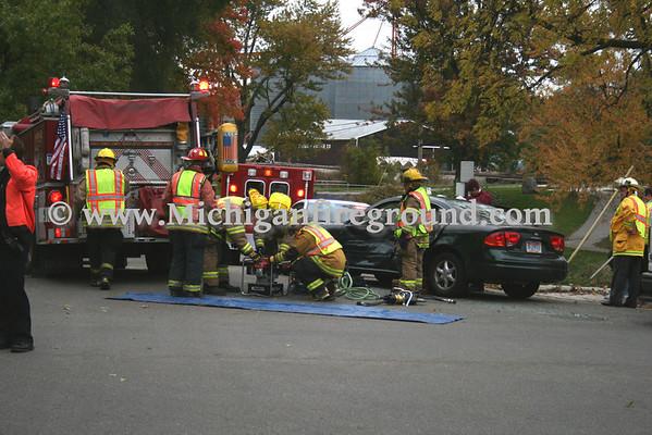 10/14/09 - Mason extrication,  Ash & Lansing