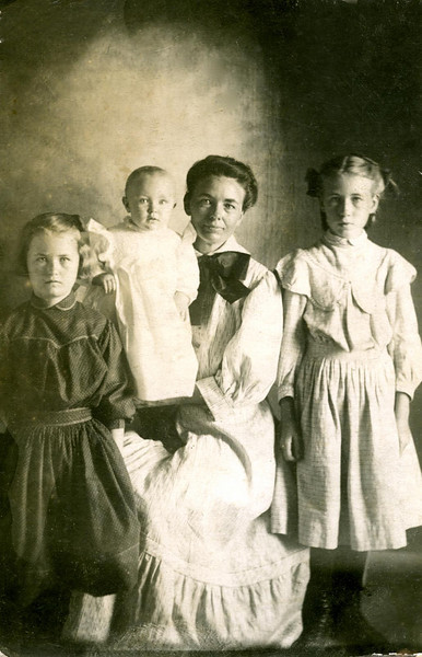 Harriet, (possibly) Chester Arthur, Orpha & Phoebe - children of Alvin and Sarah Mapes