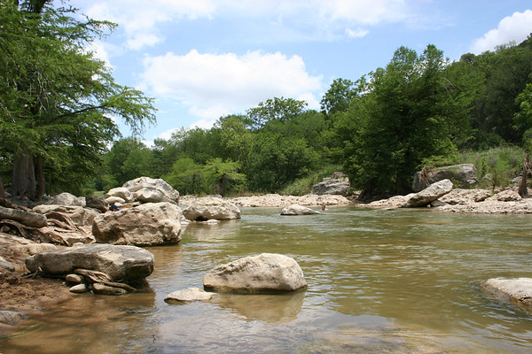 Pedernales Falls State Park in Texas - May 27, 2006