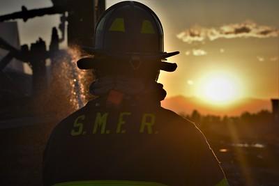 Parker Road Barn Fire - April 5, 2021