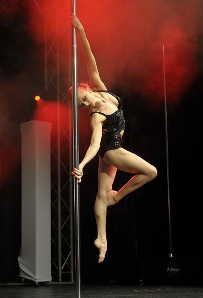 Polina Volchek (3rd place), Word Pole Sport & Fitness 2012.